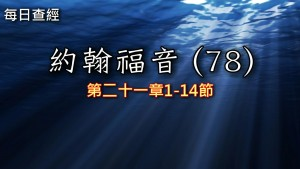 Read more about the article 約翰福音(78)21:1-14